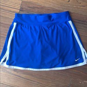Nike blue athletic skort XS